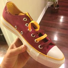 My new shoes for USC football season!! :-)