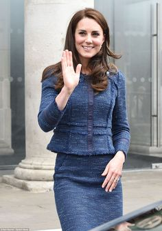 The Duchess of Cambridge leaves Kings College Hospital, following a surprise visit to pati...