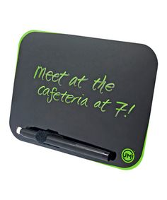 Love this Neon Green Dry Erase Board on #zulily! #zulilyfinds