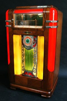 old wurlitzer jukebox - Google Search