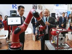An Interview with Rodney Brooks, founder of Rethink Robotics, at WRC 2016 by the Economic Observer - YouTube