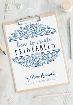 This course will answer every question you had on how to make printables. Nina Hendrick has a decade of experience on how to make beautiful printables. Etsy Business, Craft Business, Creative Business, Business Ideas, Business Labels, Business Stationary, Business Quotes, Business Planning, How To Start A Blog