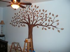 Do It Yourself! Painting a Tree Mural is Easier Than You Think!
