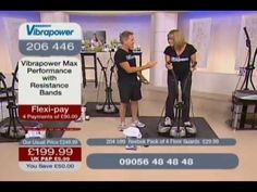 Vibrapower Disc Total Body Workout - YouTube