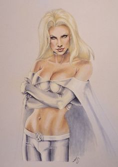 Emma Frost by Allison Sohn