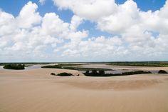 The Parnaíba River is a river in Brazil, which forms the border between the states of Maranhão and Piauí.