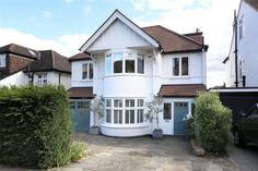 6 bedroom detached house for sale in Dora Road, Wimbledon, - Rightmove. 1930s House Exterior Uk, Modern Farmhouse Exterior, House Paint Exterior, 1930s House Extension, House Extension Design, Porch Extension, Extension Ideas, Porch Uk, House Front Porch
