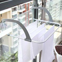 Cheap Plegable multifunción estante Escurrebiberones ropa shose percha hogar  almacenamiento calefacción radiador balcón a1d4b5d4ed61