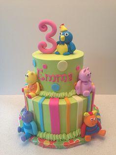 Backyardigans Cake | Flickr - Photo Sharing!