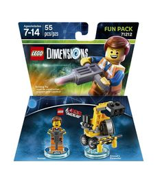 Lego Dimensions Fun Pack 71212 LEGO Movie Emmet Fun Pack