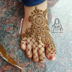 Nail art ideas for teens pictures 37 Super ideas Rose Mehndi Designs, Henna Designs Feet, Legs Mehndi Design, Mehndi Designs For Girls, Mehndi Designs For Beginners, Modern Mehndi Designs, Mehndi Design Photos, Wedding Mehndi Designs, Mehndi Designs For Fingers