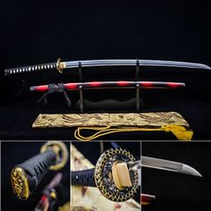 not exactly a knife but: Katana