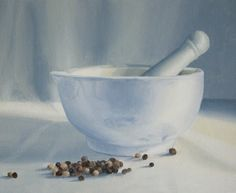 painting white objects