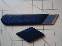 Leather paring knife for bookbinding. by VersLibris on Etsy, $30.00