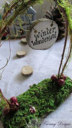 New Listing ~ Miniature Arbor ~ Winter Wonderland Santa's Village Check out this item in my Etsy shop https://www.etsy.com/listing/252191586/fairy-garden-arbor-miniature-accessories