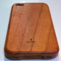 Miniot  iwood  for iPhone 4/4s  Cherry I liiiiiike it. :3