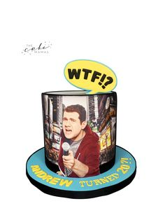 Billy On The Street Cake. Call or email to order your celebration cake today. Click visit below for more information on designing your special celebration cake. Cakes Today, Cupcake Wars, Desserts To Make, Celebration Cakes, Custom Cakes, 50th Anniversary, Food Network Recipes, First Birthdays, Cake Decorating