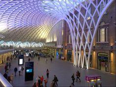 London King's Cross Railway Station (KGX) in London, Greater London