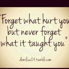 Lessons learned - Click image to find more My Life Pinterest pins