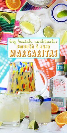 Big Batch Cocktails: Easy Margaritas