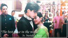 """""The best place in the world"" Is Inside a hug . #kartik #naira #kaira #yrkkh . @khan_mohsinkhan…"""