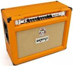 This  Orange Rockerverb 50 MKII 2X12 Combo Amp is a terrific amp that covers tons of ground for gigging, recording and rehearsal. Any player or studio would be psyched to add this to their amp line up. It offers heavenly cleans, hellishly overdriven lead tones and everything in between. All of the sounds have that classic Orange harmonic richness that shines regardless of what kind of guitar you put through it.