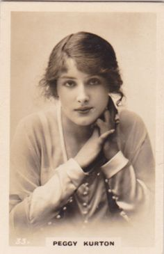 Peggy Kurton Vintage Photos Women, Vintage Photographs, Vintage Images, Vintage Ladies, Old Pictures, Old Photos, Vintage Photo Album, Victorian Photos, Silent Film Stars
