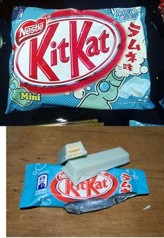 Lemonade flavoured Kit-Kat