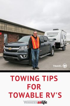 If you are looking for tips and tricks on towing your travel trailer, then join Traveling Robert for a basic lesson in towing!  Winnebago teamed up with Traveling Robert to show you how he prepares to tow his Winnebago Micro Minnie, and what gear he uses. Learn what GVWR is, how to determine towing capacity, figure weight distribution when towing, and so much more. Plan your next camping destination, and tow with confidence!  #WinnebagoLife #TravelingRobert #RVTowing #MicroMinnie #Towing Road Trip Hacks, Camping Hacks, Rv Life, Family Activities, Tent Camping, Motorhome, Traveling By Yourself, Confidence, Join