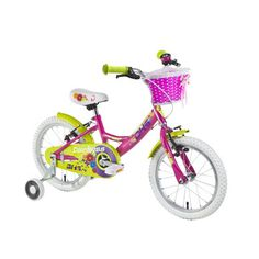 "Detský bicykel DHS Duchess 1604 16"" - model 2016 - Pink"