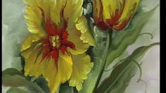 """The Beauty of Oil Painting, Series 1, Episode 17, """" Rose Garden """" - YouTube"""