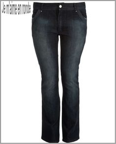 modefemmeronde jean femme grande taille moulant ou large