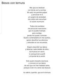 Besos con ternura por Diana García Botero