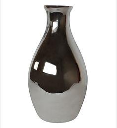 White x White Mercury Bottle Vase | AllModern