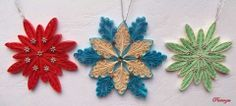 Nice snowflake quilling