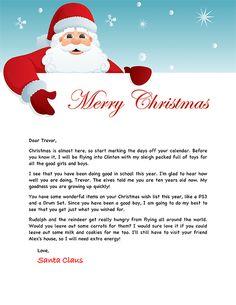 Santa Letter   Santa And Lanterns  Santa Letters