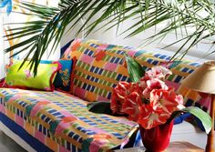 Telo Samarcanda tablecover, sofa cover and bed cover