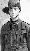 Jim Martin, at 14 officially the youngest Australian serviceman to die at Gallipoli, Turkey.