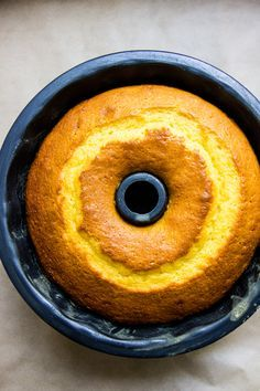 portuguese orange + olive oil cake | theswirlingspoon.com