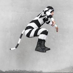 LEMUR SUIT for Men and Women - Adult One Piece Jumpsuit - Long Johns - Bendable Tail - Kigurumi Costume - Spring Pajamas - Blamo Toys US$226.00  By BlamoToys on Etsy