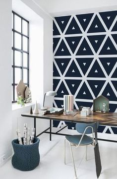 Viste tu hogar con motivos geométricos #hogar #decoración #nórdico #escandinavo  www.hogardiez.com.es