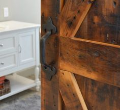 Create a unique focal point in your space with a custom sliding barn wood door or fireplace mantel and really wow your guest. Fireplace Mantels, Wood Doors, Barn Wood, Home Decor, Wooden Doors, Wood Gates, Decoration Home, Room Decor, Fireplace Mantle Shelf