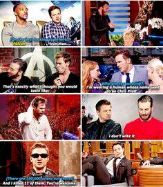 Ladies and gentlemen the Avengers