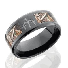 Mossy Oak Wedding Rings Inspiration