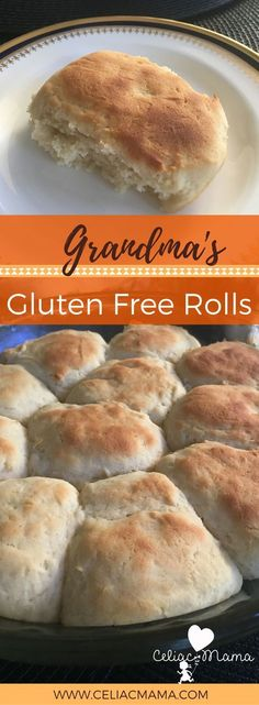 Gluten free rolls just like Grandma made them! This yeast rolls recipe is exactly what you've been missing and you don't have to anymore. Gluten free and dairy free recipe. Wheat Free Recipes, Gf Recipes, Dairy Free Recipes, Recipies, Spinach Recipes, Lunch Recipes, Bread Recipes, Gluten Free Cooking, Gluten Free Desserts