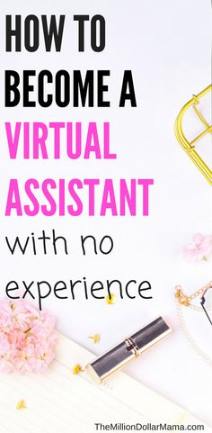 Wondering how to become a virtual assistant with no experience? Check out this post for tips and advice on how to start working from home as a virtual assistant. Earn Money From Home, Make Money Online, How To Make Money, How To Become, Virtual Administrative Assistant, Virtual Assistant, Home Based Business, Online Business, Business Ideas