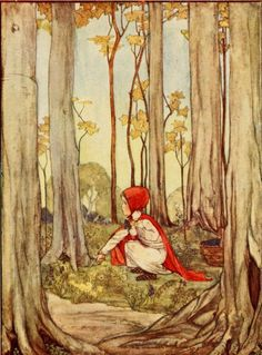 Rie Cramer illustration- Favourite French Fairy Tales by Barbara Douglas, New York, 1921