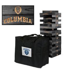 Giant Tumble Tower Game - Columbia University Lions