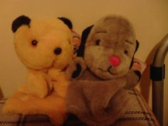 sooty and sweep 60th anniversary edition puppets