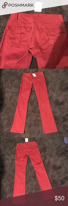 BNWT Sanctuary Pants Size.26 Brand New👌🏽 Brand New Sanctuary Pants size. 26 bought from Nordstroms, back pockets has snap button closure shown in pic. Pants are very stretchy!! Color is red/burgundy kinda in between both colors. Sanctuary Pants